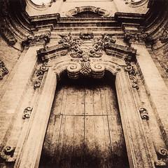 Baroque - Santa Teresa (Antonio's darkroom) Tags: hasselblad kodak trix pyrocathd lith fota neobrom moersch se5 carbon mt2 mt8 copper santa teresa baroque barocco rococo church