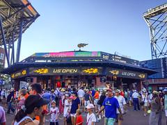 US-Open-2016-2 (fabergtourexperience) Tags: usopen tennis new york usa arthur ashe stadium stanislaswawrinka stan wawrinka novakdjokovic djokovic experience sporting events sunset sunny day