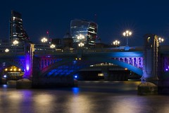 _MG_9722-2 (TimKouroff) Tags: river thames bridge london night dark walkietalkie canon sigma longexposure lights water city cityscape urban iamlondon tower42 business architecture
