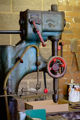 Drill (SteveH65) Tags: fujifilmxe1 xc50230mmf4567ois nationalcoalminingmuseum machinery drill