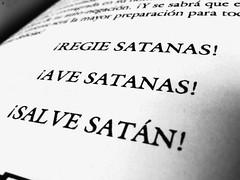 Ave Satanas! (APshot) Tags: blackandwhite photography darkness philosophy books satan satanism dogma antonlavey satanas baphomet occultism thesatanicbible