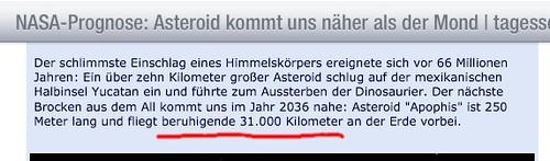 """Beruhigende"" 31.000 km? Das sind nur ~5 Erdradien! • <a style=""font-size:0.8em;"" href=""http://www.flickr.com/photos/77921292@N07/8457297807/"" target=""_blank"">View on Flickr</a>"