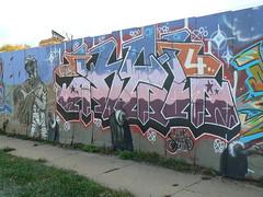 kel (httpill) Tags: streetart chicago art graffiti tag graf kel