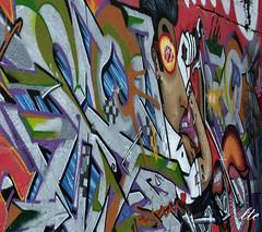 Mural (letrucas) Tags: españa grafitti grafiti santacruzdetenerife islascanarias arteenlacalle flickrsbest flickraward pinturaenlacalle leandrotrujillocasañas