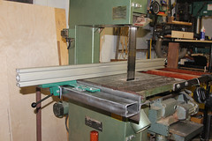 Band Saw Fence - DIY Guide Rails -32