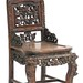 5035. Chinese Relief Carved Side Chair