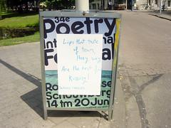 Poetry International Festival Rotterdam (Geertrude Craeck) Tags: festival juni design rotterdam poetry 14 international tm schouwburg 20 75b rotterdamse 34e