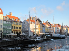Icy Nyhavn Canal (Alexanyan) Tags: city winter snow cold ice copenhagen denmark boat canal europe tour capital danish icy scandinavia danmark kobenhavn abigfave