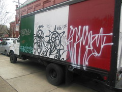 roam and others (TheRapLetterTechnician) Tags: philadelphia truck graffiti italian tag south graf artists philly various bomb tagging roam bombing