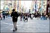 Ginza, Tokyo (Sapient Iguana) Tags: street walking walk crowd hunch hunched hunchedover lucianlanteri