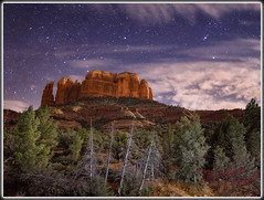 The Night Cathedral (MikeJonesPhoto) Tags: arizona nature landscape bravo photographer ns scenic sedona az professional 213 cathedralrock 4651 mikejonesphoto impressedbeauty smithsouthwestern wwwmikejonesphotocom