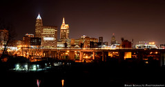 Cleveland Skyline (B.G.Schultz-Photography) Tags: ohio skyline nikon nightscape cleveland d7000