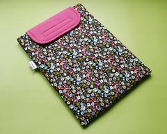 Case para tablet (Meia Tigela flickr) Tags: floral handmade artesanato capa artesanal craft case tablet tecido ipad estampado feitoamão