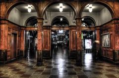 Nils Ericsson, Gothenburg. (Fredrik Sundqvist) Tags: wood detail göteborg nikon europe sweden interior ericsson gothenburg terminal nils hdr