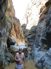 JS in Snake Gorge (John Steedman) Tags: oman muscat snakegorge  sultanateofoman    snakecanyon    wadibimmah wadibimah