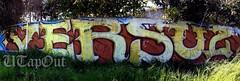 VERSUZ (UTap0ut) Tags: california art cali graffiti paint graff lts kog versuz uploaded:by=flickrmobile flickriosapp:filter=nofilter