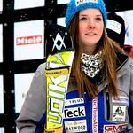 Stephanie Gartner, 3rd in FIS Slalom - BC Team in Collingwood PHOTO CREDIT: Robyn Finley
