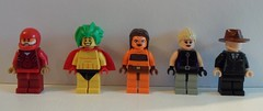 DC Heroes: Justice League (although I don't think Starfire counts as a justice league member) (-{Peppersalt}-) Tags: lego batman dccomics superheros villians minifigures peppersalt