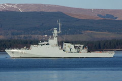 BNS Apa P121 (Tailothebank) Tags: brazil mountains water brasil river scotland riverclyde greenock offshore ships navy vessel class hills esplanade brazilian apa gourock patrol warship amazonas warships inverclyde firthofclyde opv bns p121