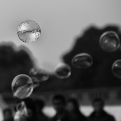 eutopia in a bubble (~mimo~) Tags: life china city people blackandwhite blur river square photography soap play shanghai happiness bubble bund perfection odc eutopia mimokhair amacroofanything
