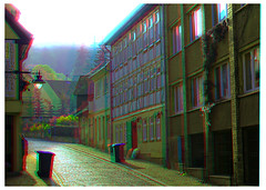 Blankenburg in the Harz Mountains 3D ::: DRi Anaglyph Stereoscopy (Stereotron) Tags: house mountains architecture radio work canon germany eos stereoscopic stereophoto stereophotography 3d ancient europe raw control kitlens twin anaglyph medieval stereo stereoview remote spatial 1855mm middleages hdr stud harz blankenburg halftimbered redgreen 3dglasses hdri transmitter antiquated gebirge fachwerk stereoscopy synch anaglyphic optimized in threedimensional stereo3d cr2 stereophotograph anabuilder saxonyanhalt sachsenanhalt synchron redcyan 3rddimension 3dimage tonemapping 3dphoto 550d stereophotomaker 3dstereo 3dpicture quietearth anaglyph3d yongnuo stereotron