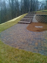 "Paver sidewalk, steps and retaining wall • <a style=""font-size:0.8em;"" href=""http://www.flickr.com/photos/22274533@N08/8515008572/"" target=""_blank"">View on Flickr</a>"