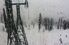 Gulmarg Gondola in Gulmarg, Jammu and Kashmir is the world's second highest and Asia's highest and longest operating cable car since the closure in 2008 of the Mrida cable car in Venezuela. (Ahmer M Khan) Tags: winter snow skiing snowboard cablecar snowing kashmir raining gulmarg 2013