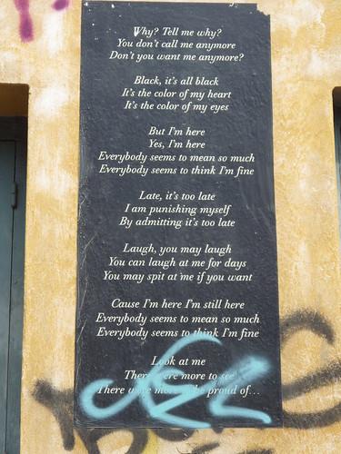 urban poem #1