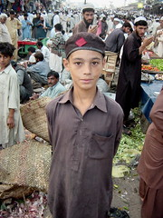 A Boy in Market, Pechawar (tyamashink) Tags: pakistan