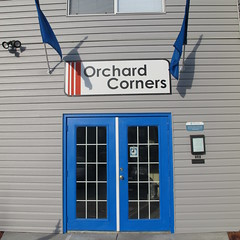 Blue Chip Door Color (Orchard Corners) Tags: campus lawrence student apartments close ks rental orchard ku kansas housing rent jayhawk corners