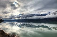 Clouds Over Lillooet Lake (gordeau) Tags: reflection clouds landscape bc gordon ashby lillooetlake top20landscapes flickrchallengegroup flickrchallengewinner thechallengefactory thepinnaclehof kanchenjungachallengewinner gordeau tphofweek238