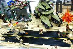 The Road to Hell (blamos86) Tags: oregon portland lego or bricks battle scifi cascade mecha mech moc afol 2050 2013 portlug aarma