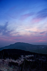 Dusk at The Roaches (mrsdawnpickering) Tags: longexposure sunset color nature landscape dusk staffordshire roaches