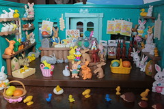 Candy Store (raining rita) Tags: bunny bunnies birds easter swan paint candy chocolate caramel marshmallow scales baskets eggs sweets chicks candystore maplenut toysundayfood