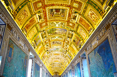 Vatican Museum - Hall of Maps - Rome, Italy (Craig Greenwood) Tags: life city travel blue holiday pope vatican rome roma heritage history church archaeology abbey architecture vintage landscape gold lights ancient scenery worship artist raw catholic catchycolours christ cathedral cardinal roman vibrant prayer sightseeing pantheon scenic medieval historic haunted colosseum clear holy citylights stunning romantic historical priest marble oldtown hdr romanempire relics romans sistinechapel tapestry outstanding vaticancity archbishop citybreaks romani icapture historicalcity historicalplace historictown historicaltown finegold houseofgod housesofworship perfectbeauty beautifulcapture mywinner photographersgonewild liverpoolphotographer flickrtravelaward nikond3100 me2youphotographylevel1