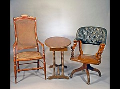 Grant and Lee's chairs from Appomattox surrender