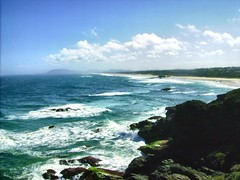 Lighthouse Beach Goes on forever (Deep End Fishing) Tags: lighthouse beach pacificocean portmacquarie tackingpoint