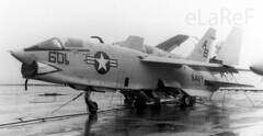 146863 Vought RF-8G 601/AB VFP-63 Det 2 (eLaReF) Tags: 2 bw white black john airplane aircraft aviation navy aeroplane jfk f naval f8 crusader usn kennedy carrier det johnfkennedy firthofforth navalaviation cv67 vought det2 rf8g vfp63 146863 cva67 lastofthegunfighters lastgunfighter 601ab cvan67