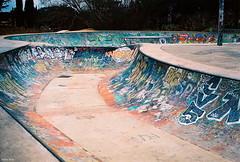 Graff Park! (Arthur Janin.) Tags: street leica sea dog sun france beach arthur bmx angle f14 voigtlander wide montpellier apo summicron skatepark f2 12mm f56 50 75 vignetting rider plage ultra summilux asph m7 janin goeland grammont