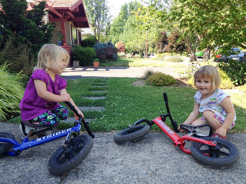 girl friend strider zooey balancebike