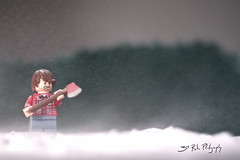 Danny, I'm coming! (3rd-Rate Photography) Tags: snow canon toy 50mm lego florida stephen 7d figure jacksonville theshining toyphotography earlware 3rdratephotography kingstanleykubrick