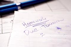 Note (Ben Unleashed!) Tags: art israel pentax note homework tomorrow due pentaxkr