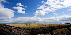 Lake Huron at Alabaster, MI (hz536n/George Thomas) Tags: sky usa fall canon october lab michigan canon5d upnorth lakehuron 2012 smrgsbord alabaster labcolor ef1740mmf4lusm ioscocounty cs5