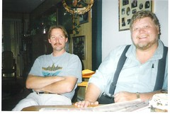 Ken Jones and Larry StJohn (captaingreen56) Tags: 2005 jones michigan ken stjohn larry grayling