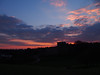 Photo of Sunset over Oystermouth Castle 5th April 2013 (2)