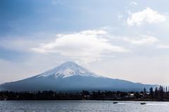 Speed Boat (notjustnut) Tags: travel mountain lake japan landscape fuji traveller fujisan ropeway mtfuji kawaguchilake