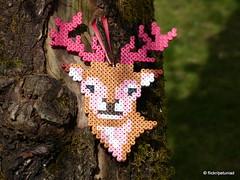 Hirsch Bgelperlen (petuniad) Tags: beads alpine chic hama perler prlplattor hamabeads strijkkralen alpinechic huettenzauber buegelperlen