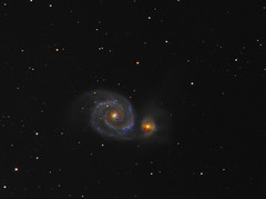 M51 Whirlpool galaxy (chris_swatton) Tags: auto signature tripod ngc bisque apo rob m mount miller whirlpool galaxy software series 51 triplet mx equatorial paramount filterwheel tmb robotic lodestar f7 oag 5194 lrgb atik guider 130mm autoguider computerised Astrometrydotnet:status=solved 314l tmb130ss Astrometrydotnet:version=14400 megamount tri36m Astrometrydotnet:id=alpha20130491750519