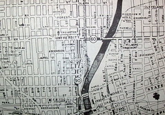 Des Moines, IA (April 1958) (davecito) Tags: midwest map iowa ephemera planning 1950s transportation cartography roadmap urbanplanning desmoines drafting streetmap citymap oldmap capitalcities mapco vintagemap highwaymap largestcities