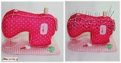 Máquina de costura (mfuxiqueira) Tags: room craft feltro ateliê máquinadecostura alfineteiro agulheiro feltroestampado
